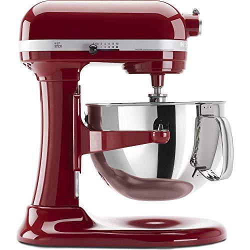 Kitchenaid Professional 600 Stand Mixer 6 quart, Empire Red Certified Refurbished