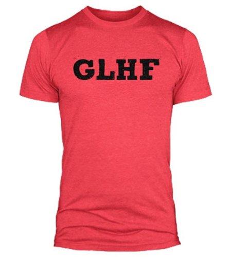 Jinx Costume League Of Legends - League Of Legends GLHF Premium Adult T-Shirt XX-Large