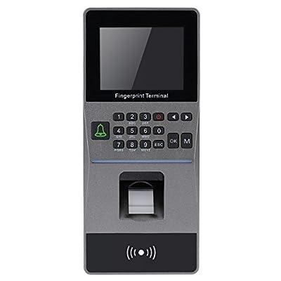 KKmoon Biometric Fingerprint Access Control System TCP/IP, RS485 Attendance Machine Electric RFID Card Reader Sensor by KKmoon