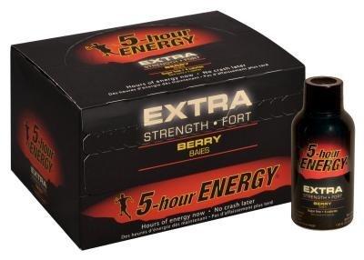 5 HOUR ENERGY 2OZ X-STRENGTH