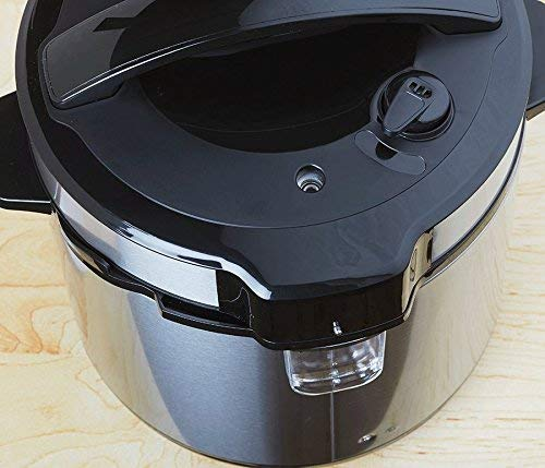 Multipot Electric Digital 6 Qt Multi Programmable Pressure Slow Cooker with Nonstick Insert Pot and Trivet - Delay Timer Warmer Steamer Rice Cooker Saute Pressure cook saute rice yogurt steam -One Touch LED by Unique Imports (Image #4)