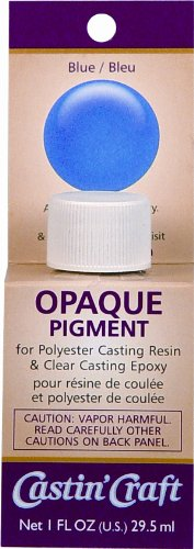 (Environmental Technology 1-Ounce Casting' Craft Opaque Pigment, Blue)