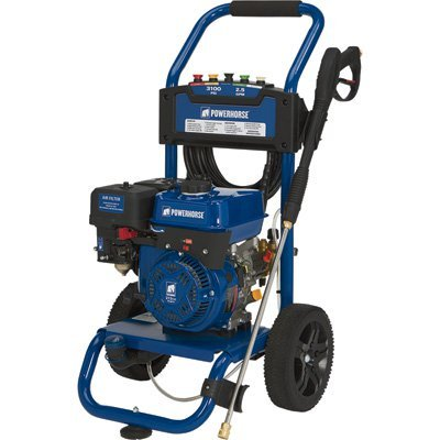 Powerhorse Gas Cold Water Pressure Washer - 3100 PSI, 2.5 GPM, EPA and CARB Compliant by Powerhorse