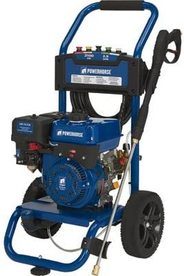 Powerhorse Gas Cold Water Pressure Washer – 3100 PSI, 2.5 GPM, EPA and CARB Compliant