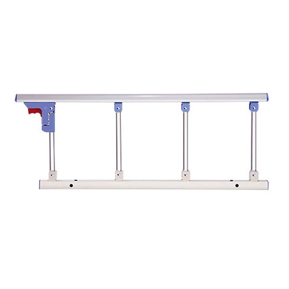 ベッドフェンス- 高齢者用ベッドレール安全サイドガード、折りたたみ補助ハンドルベッド手すり、病院用金属製グリップバンパーバー、長さ95cm   B07NPMQY2V