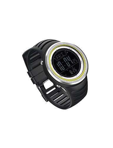 SUNROAD os130800b Outdoor-Sport-reloj Podómetro con altímetro barómetro Brújula Termómetro Cronómetro Digital LCD
