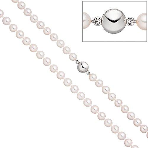 Jobo Schließe pour collier de perles avec aimant perle d'Akoya 45cm en Argent Sterling 925