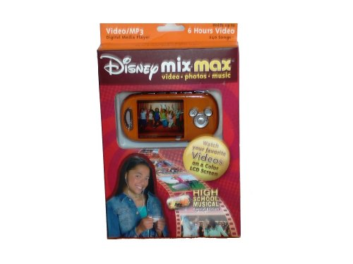 - High School Musical Special Edition Disney Mix Max Music and Video Player