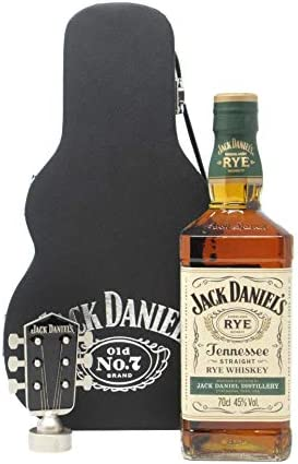 Jack Daniel's - Tennessee Rye Guitar Case (Hard To Find Whisky Edition) - Whisky