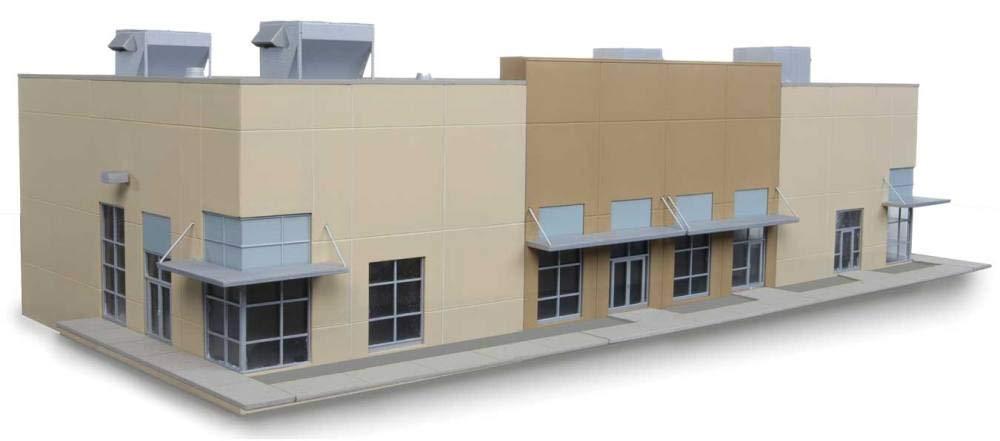 Walthers Cornerstone Scala H0 Kit di Costruzione Affari Centro