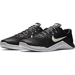 Nike Men's Metcon 4 Training Shoe Blackwhite Size 10 M Us
