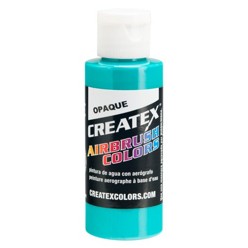 1 Gal. of Opaque Aqua #5206-GL CREATEX AIRBRUSH COLORS Hobby Craft Art PAINT by Createx
