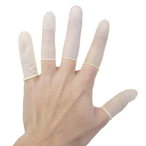 Cot Rubber Fingertip Protective Reusable Anti Static Sporting Style Silicone Protector Arthritis by DIVIC (Image #3)