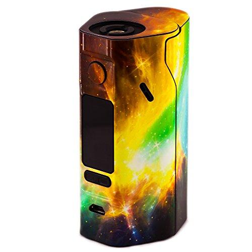 PIMP MY VAPE - Custom Protective Vinyl Decal for ecig (e-cigarette) WISMEC REULEAUX RX 2/3 Cover - Best quality skin - Second life to your box mod, wrap and enjoy + BONUS STICKER (Space Near)