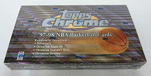 1997/98 Topps Chrome Basketball Box (Retail)