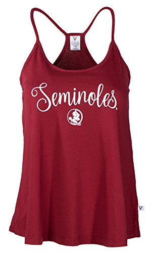 NCAA Florida State Seminoles Rik HI-LO Lampshade Tank T-Shirt, Large, Garnet - Florida State Seminoles Lamp