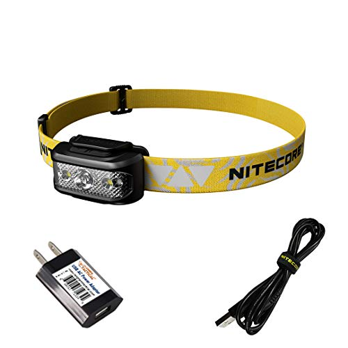 NITECORE NU17 Ultra Lightweight Rechargeable Running Headlamp with Red Light and Reading Light with LumenTac Adapter best to buy