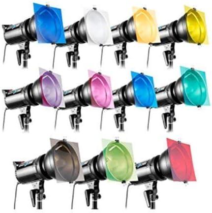 Pixapro® 30x30cm Creative Color Gel Pack Iluminación Luz Estudio Fotografía Efectos Edit Paisaje *Rapido* Stock de Ru * Iva Registrado: Amazon.es: Electrónica