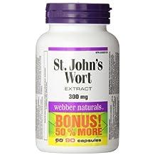 Webber Naturals St. John's Wort Extract Capsule, 300mg