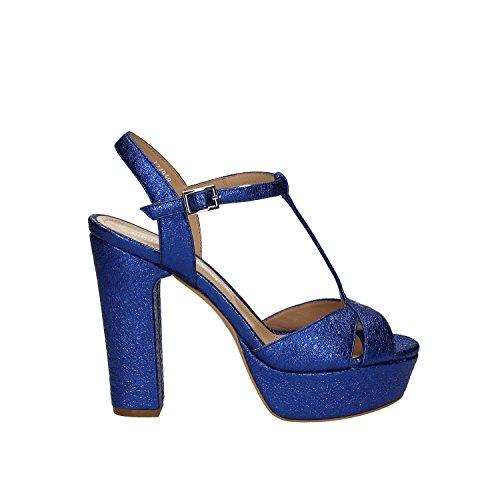 Bruno premi K2504N Sandales à talons hauts Femmes Bleu 40