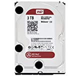 """WD Red 3TB NAS Hard Drive - 5400 RPM Class, SATA 6 Gb/s, 64 MB Cache, 3.5"""" - WD30EFRX"""