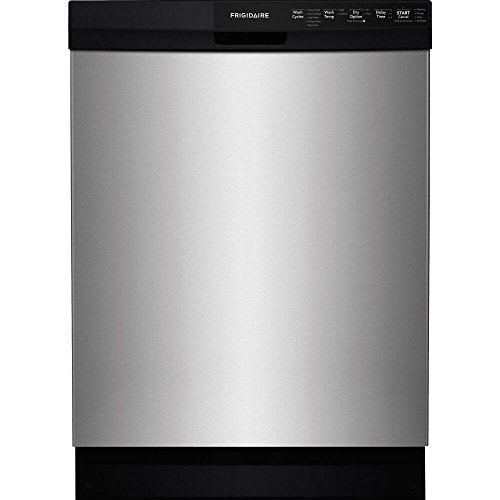 Frigidaire FFBD2412SS 24″ Built-In Dishwasher with 14 Place Setting Energy Saver Plus Cycle SpaceWise Silverware Basket and Delay Start in Stainless