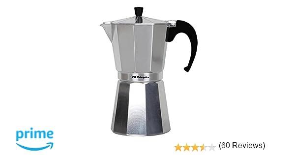 Orbegozo KF 100 100-Cafetera, 1 Taza, Aluminio