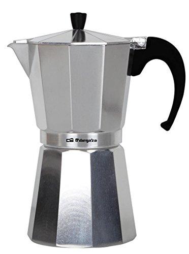 Orbegozo KF 200 KF200-Cafetera, 2 Tazas, Aluminio