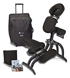 Earthlite Avila II Massage Chair Package (Black)