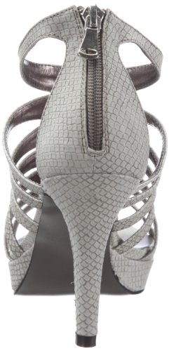 Victoria Delef SANDALS 12V0819 - Sandalias de vestir de tela para mujer Gris