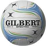 Gilbert Official Spectra Netball Rubber Surface Duragrip Match & Training Balls