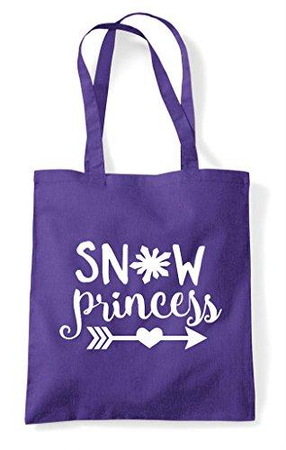 Tote Purple Bag Shopper Princess Statement Snow wq06ECw