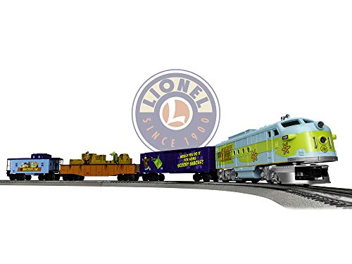 Lionel Mystery Machine FT Lion Chief Ready to Run Train Set