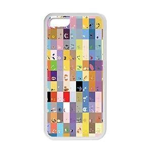 meilz aiaiQQQO Lovely square anime cartoon Phone case for ipod touch 4meilz aiai