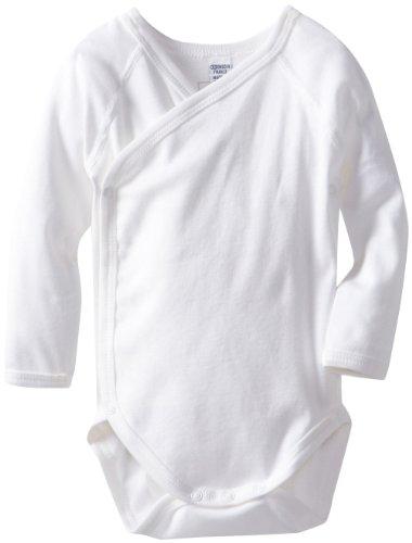 Petit Bateau Unisex-Baby Newborn Crossover Jersey Knit Bodysuit