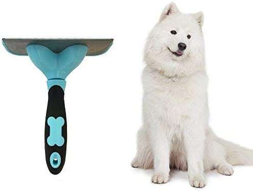 Professional Pet Grooming Brush and Deshedding Tool For Small Medium /& Large Dogs And Cats Dog Hair Cat Brush Effectively Reduces Shedding By Up To 95/% With Short to Long Hair