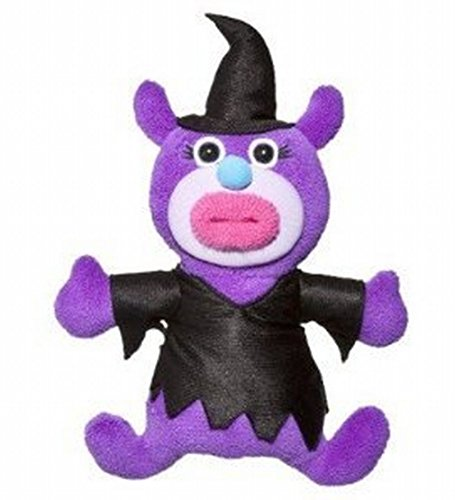 [Halloween Witch Singamajig - Purple and Black] (Animals Dressed Up In Halloween Costumes)