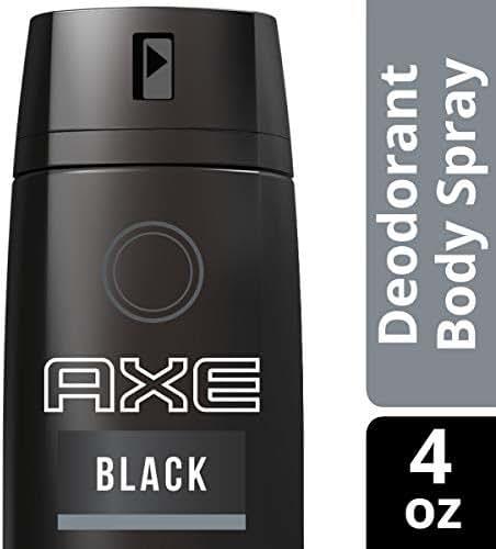 AXE  Black Body Spray for Men 4 OZ