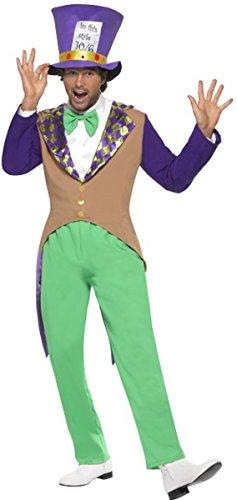 Mad Hatter Costume, Adult (Mad Hatter Costume Images)