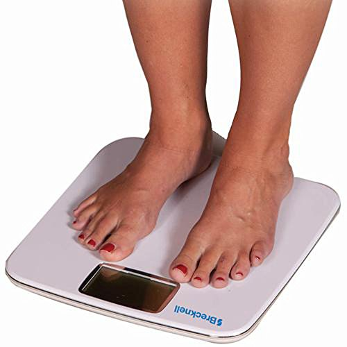Salter Body Fat - 396 LB x 0.2 LB Salter Brecknell Body Fat & Bathroom Scale