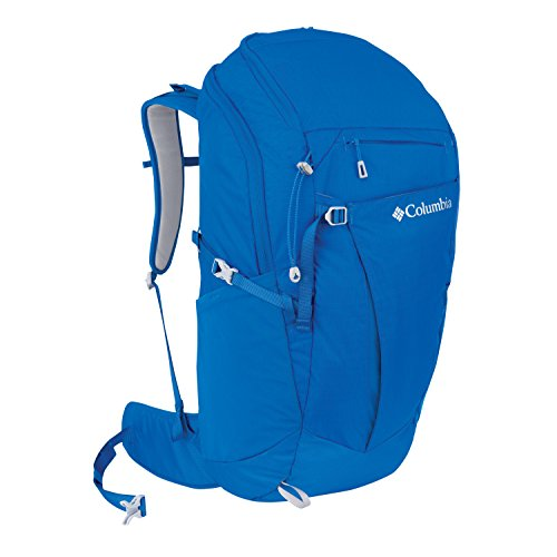 Columbia Rocky Point Frame Backpack Pack Blue
