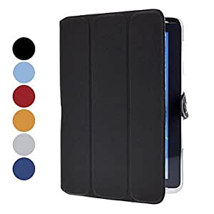 Purchase Folding Design Pattern PU Leather Case with Stand for Samsung Galaxy Note 10.1 , Black
