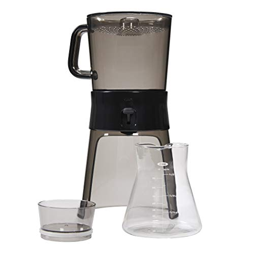 (OXO BREW Cold Brew Coffee Maker (32 ounces) with 10 Paper)