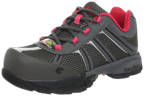 Nautilus Safety Footwear Women's 1393 Work Shoe,Grey,12 M ()