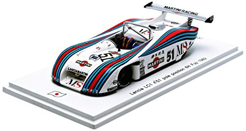 1/43 Lancia LC1 Fuji 6H 1982  M. Alboreto - P. Ghinzani #51(ホワイト) SJ021