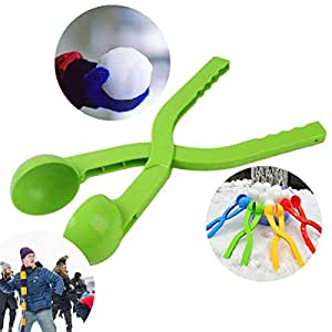 Snowball Maker - Color of Your Choice - Snow Toys for Kids - Perfect for Outdoor Play and Snow Play. This Winter Outdoor Toy can be Used to Create The Ultimate Snow Game.