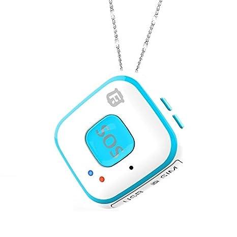 Rastreador GPS GPRS WIFI localizador SOS alarma caída ...