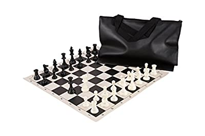 Superior Chess Set Combination - Triple Weighted - by US Chess Federation