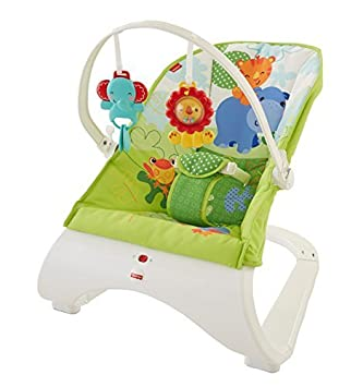Fisher Baby Gear Hamaca confort y diversión color verde Fisher Price CJJ