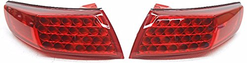 New OEM 2003-2008 Infiniti FX35 FX45 Red Lens LED Taillamps Left & Right Pair ()